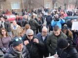 Перничани излязоха днес на протест заради кризата с водата