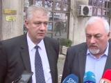 Директорът на Пирогов проф. Асен Балтов и директорът на педиатричната болница д-р Димитър Русинов