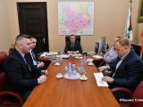 Представители на водеща полска фирма за млекопреработване днес се срещнаха с кмета Стефан Радев