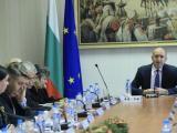Президентът Румен Радев на срещата с неправителствени организации и професионални сдружения на магистрати