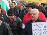 Национален протест на автоинструкторите блокира центъра на София