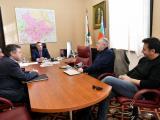 Стефан Радев и социалният антрополог Харалан Александров