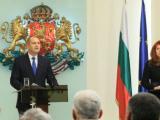 Президентът Румен Радев и вицепрезидентът Илияна Йотова дадоха пресконференция по повод третата годишнина от встъпването си в длъжност