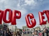 Протести срещу СЕТА в Европа