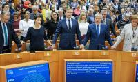 Снимка: Парламентът одобри споразумението за оттегляне на Обединеното кралство, преди гласуването в Съвета за приключване на процедурата