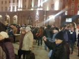 Граждани се събраха пред Министерския съвет в подкрепа на президента Румен Радев