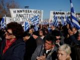 Протест на гърци на Егейските острови срещу хилядите мигранти
