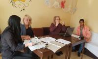 """Мобилен екип на сектор """"Български документи за самоличност""""-Сливен в дома в селище Качулка"""
