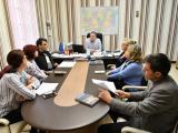Заседание на Общинската епизоотична комисия, с председател е заместник-кметът Румен Иванов