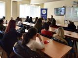 """Форуми на тема """"Противодействие на престъплението трафик на хора и насърчаване на безопасното използване на интернет"""" със студенти от Медицински университет – Варна, Филиал Сливен и Технически университет – София, Факултет и колеж – Сливен."""