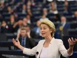 Урсула фон дер Лайен представя зелената сделка пред Европейския парламент