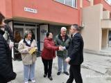 """Кметът Стефан Радев се срещна днес със жителите на новосанирания блок 17 на ул. """"Гео Милев"""""""