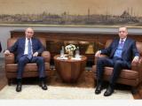 Президентът на РФ Владимир Путин и  Ердоган
