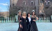 """Най-красивите омъжени дами в Бургас с приказна фотосесия в замъка """"Влюбен във вятъра"""""""