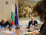 Срещата при президента Румен Радев  днес