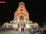 """Патриарх Неофит възвести Възкресение Христово пред храм-паметника """"Св. Александър Невски"""""""