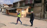 """Полиция и доброволци въвеждат ред и спазване на противоепидемичните мерки в сливенския квартал """"Надежда"""""""