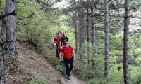 """Планински спасители помогнаха на пострадала жена  в района на """"Халката"""""""