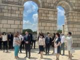 Президентът Румен Радев в Плиска