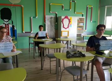 Ученици на национален кръг на Олимпиада