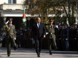 Президентът и върховен главнокомандващ на Въоръжените сили Румен Радев