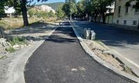 Продължава изграждането на велоалеи в Сливен по проекта за интегриран градски транспорт