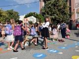 """Кметът Стефан Радев присъства на откриването на новата учебна година в Основно училище """"Д-р Иван Селимински""""-Сливен"""