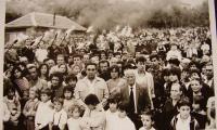 1988 г.-  откриване на паметната плоча в с. Хухла
