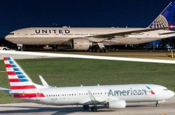 American Airlines и United Airlines
