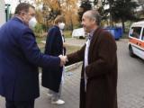 Доцент Атанас Мангъров и Костадин Костадинов