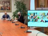 Президентът Румен Радев проведе онлайн среща с българи зад граница