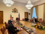 Работното съвещание, което премиерът Бойко Борисов свика с представители на Националния оперативен щаб, ваксинационния щаб и министри