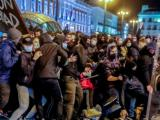 Пореден протест в Барселона в подкрепа на испанския рапър Пабло Хасел