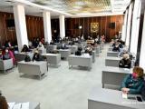 """Среща в зала """"Май"""" на представители на културните средища и Комисията за разпределение на държавната и общинска субсидии"""