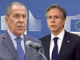 Министърът на външните работи на РФ Сергей Лавров и Антъни Блинкен