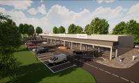 В Сливен започна изграждането на първия ритейл парк, който ще предложи модерни търговски площи