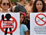 Протестните демонстрации в Гърция срещу задължителното ваксиниране на медицинските работници продължават вече втора седмица