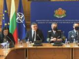 Брифинг на  министъра на отбраната Георги Панайотов